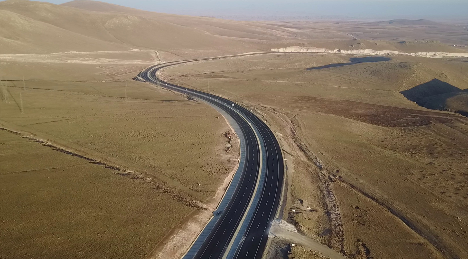 Tarihi İpek Yolunun Son Projesi:   Kars – Digor Yolu Ölmez İnşaat imzası ile Tamamlandı