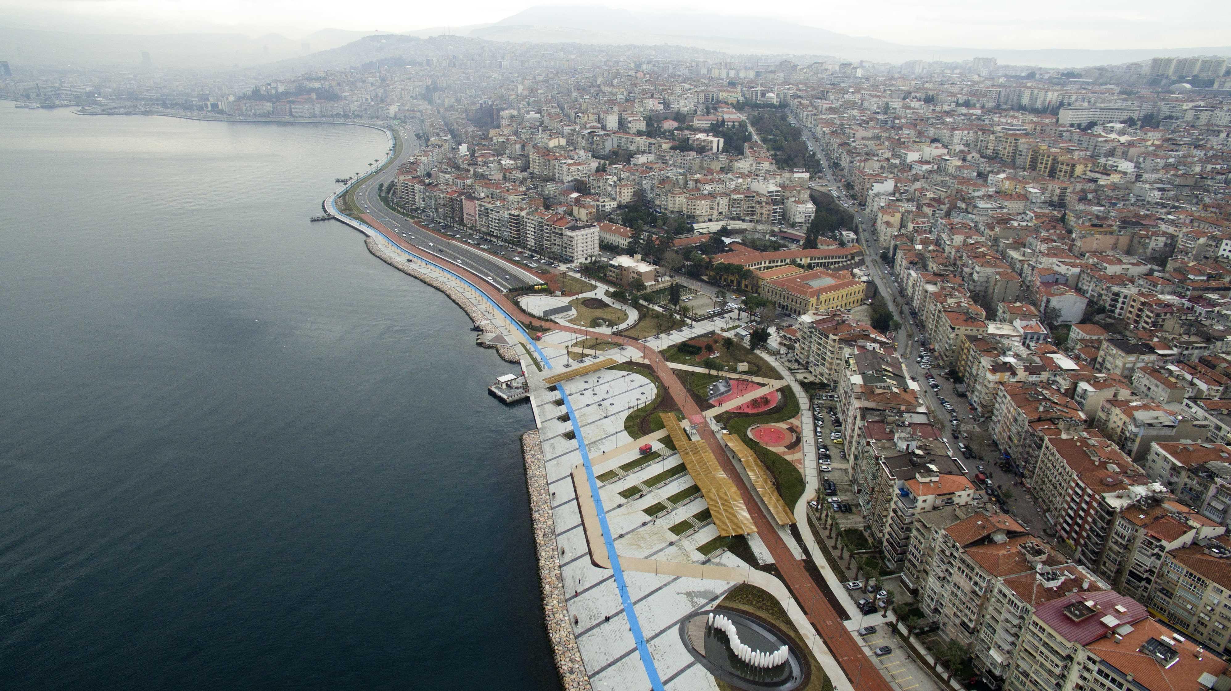 İzmir'in modern yapılaşmasına Ölmez İnşaat İmzası